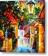 Evening Metal Print by Leonid Afremov