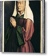 Eyck, Jan Van 1390-1441 Eyck, Hubert Metal Print