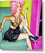 Fashion Girl Metal Print