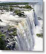 Iquazu Falls - South America Metal Print