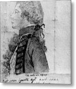 James Wolfe (1727-1759) Metal Print