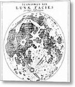 Johannes Kepler (1571-1630) Metal Print