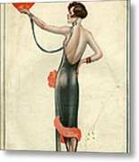 La Vie Parisienne  1925  1920s France Metal Print