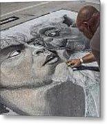 Lake Worth Street Painting Festival Metal Print