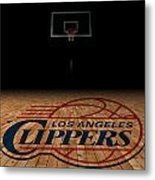 Los Angeles Clippers Metal Print