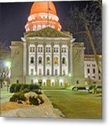 Madison Capitol Metal Print by Steven Ralser