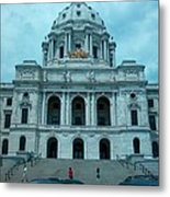 Minnesota State Capitol Metal Print