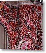 Mosaic Doorway Metal Print