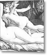Nude Art Metal Print