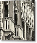Old World Window Metal Print