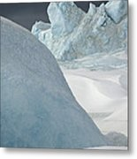 Pack Ice, Antarctica Metal Print