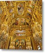 Palais Garnier Interior Metal Print