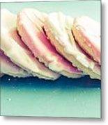 Pink Cookies Metal Print