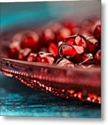 Pomegranate Metal Print