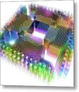 Quantum Computer Metal Print