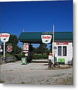Route 66 Sinclair Station Metal Print