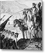 Saratoga: Surrender, 1777 Metal Print