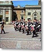 Stockholm Guard Change Metal Print