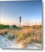 Sandy Shore Metal Print
