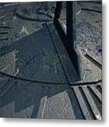 Sundial Lost In Time Metal Print
