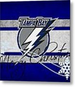 Tampa Bay Lightning Metal Print