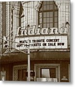Terre Haute - Indiana Theater Metal Print