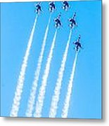 Thunderbirds In Formation  Metal Print