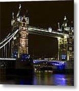 Tower Bridge London Metal Print