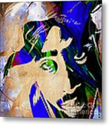 Tupac Collection Metal Print