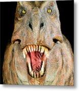 Tyrannosaurus Rex Model Metal Print