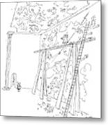 Why, Giambattista Tiepolo, You Old So-and-so! Metal Print