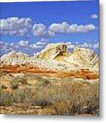 White Pocket Utah Landscape Metal Print