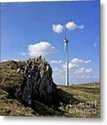 Wind Turbine Metal Print by Bernard Jaubert