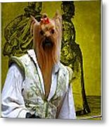 Yorkshire Terrier Art Canvas Print Metal Print