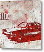 71 Pinto Metal Print