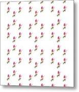 72 Dancing Pink Magnolias Panel Metal Print