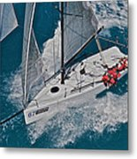 Miami Sail Week Metal Print