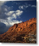 clearing storm waterpocket fold capitol reef NP Metal Print