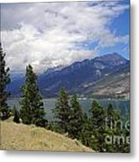747p Columbia Lake Canada Metal Print