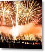 75th Golden Gate Bridge Celebration Metal Print