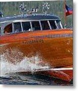 Thunderbird Yacht Metal Print