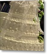 #775 D138 Cake All White  Metal Print