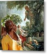 Irish Setter Art Canvas Print Metal Print