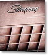 1972 Chevrolet Corvette Stingray Emblem Metal Print
