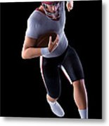 American Football Player Metal Print