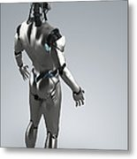 Android Metal Print