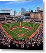 Boston Red Sox V Baltimore Orioles Metal Print