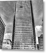 Canary Wharf Tower Metal Print
