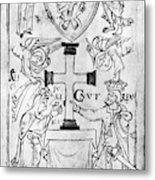 Canute I (c995-1035) Metal Print