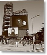 Citizens Bank Park - Philadelphia Phillies Metal Print